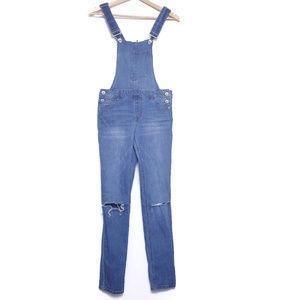 Dollhouse   denim overalls